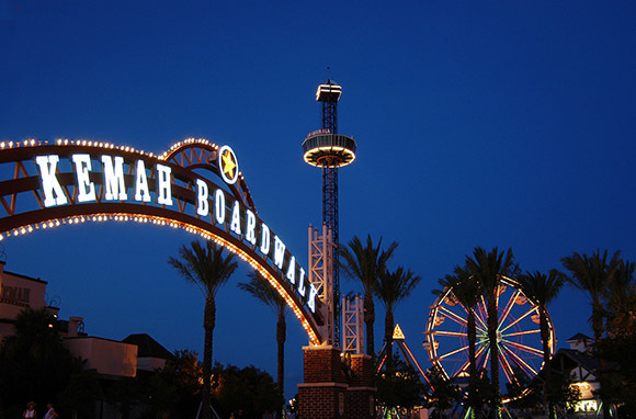 Kemah Boardwalk, Texas