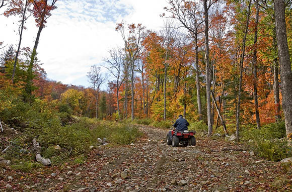 ATV Ride: Landgraff, West Virginia