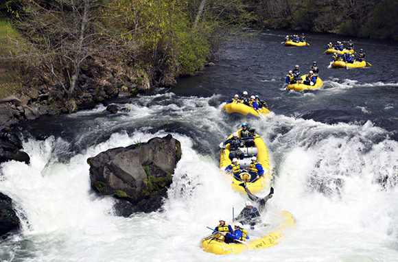 Whitewater-Rafting Trip: White Salmon River, Washington