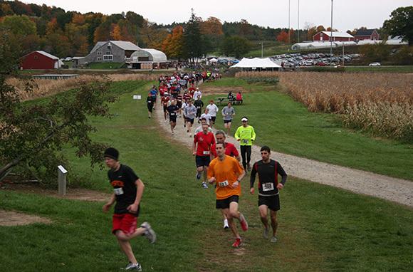 Apple Orchard Trail Run, Massachusetts