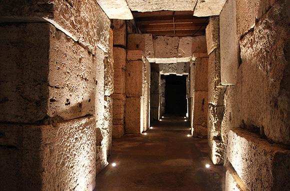Colosseum Hypogeum, Rome, Italy