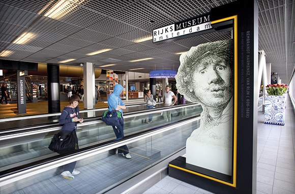 Museum, Amsterdam Schiphol Airport, Netherlands