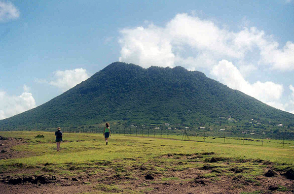 The Quill on St. Eustatius, Caribbean Netherlands