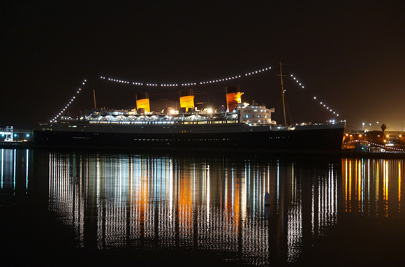 HMS Queen Mary, Long Beach, California