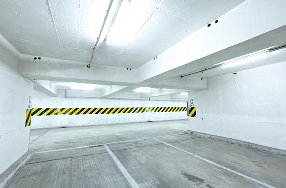 Car Trapped in Closed Parking Garage