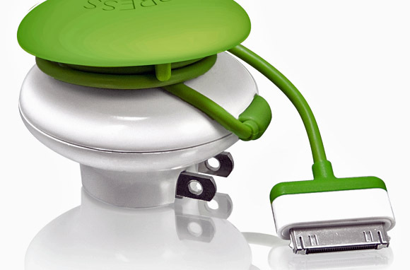 Mushroom GreenZero Wall Travel Charger