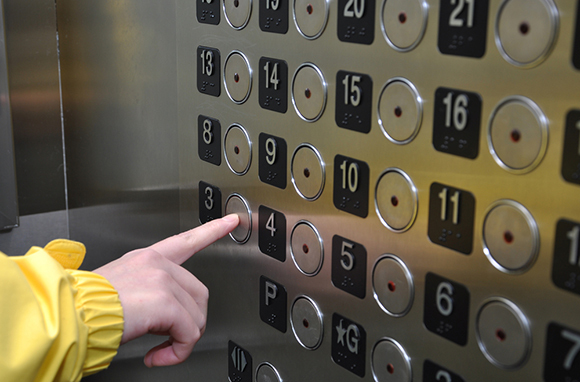The Elevator Button Pusher