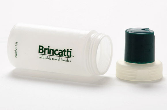 Brincatti Refillable Travel Bottles