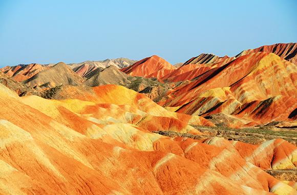 Danxia Landforms, China