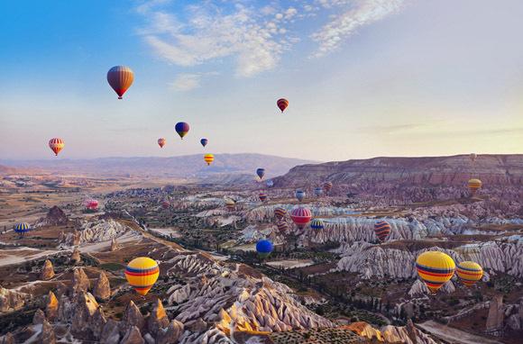 Underground Cities, Cappadocia, Turkey