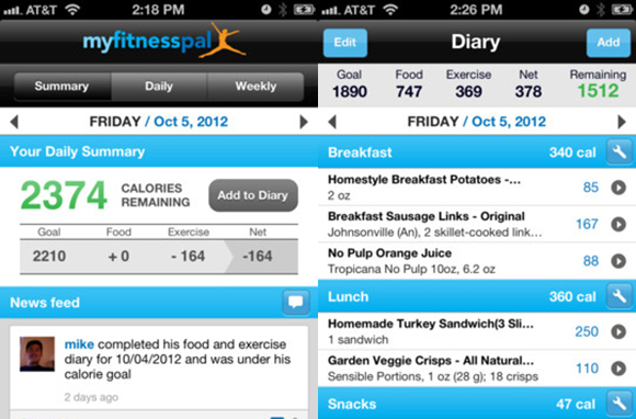 Download a Calorie-Counting App