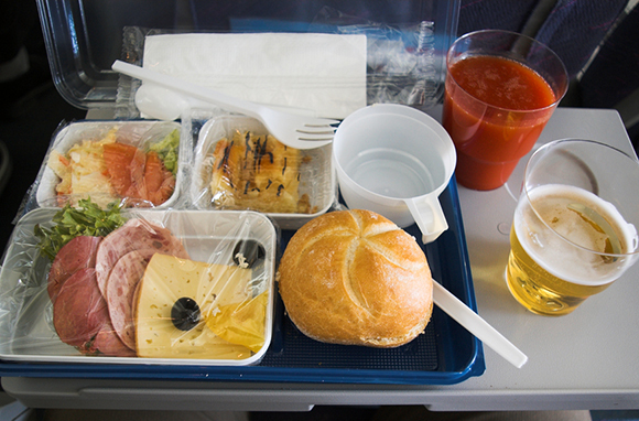 Things in Airline Food
