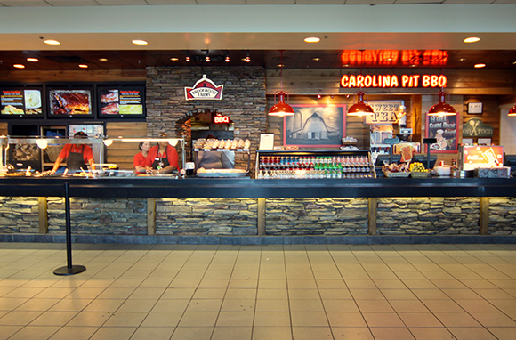Brookwood Farms BBQ, Charlotte-Douglas International Airport
