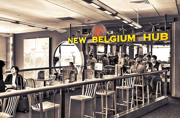 New Belgium Hub, Denver International Airport