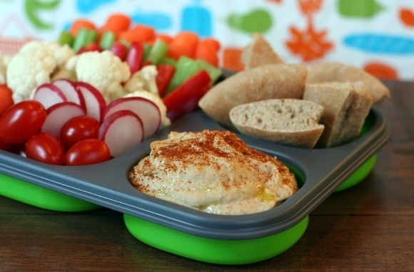 White-Bean Hummus Lunch Box