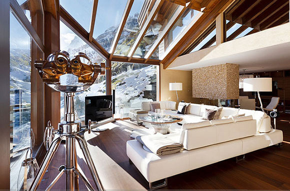 Over-the-Top Chalets