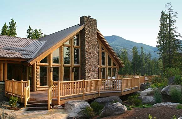 Triple Creek Ranch's Ponderosa Cabin
