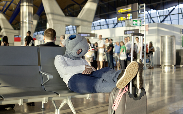The Ostrich Pillow: We Wore it So You Don't Have to…