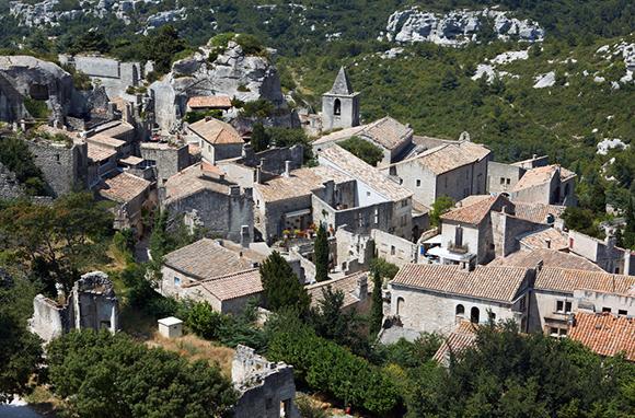 Les Baux, France