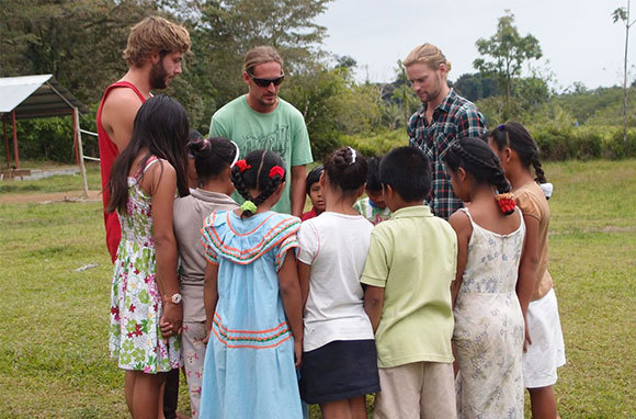 Panama: Help At A Preschool & Learn To Surf