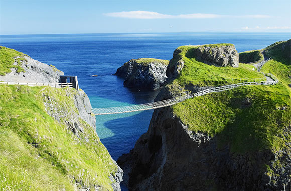 Carrick-a-Rede Rope Bridge, County Antrim, Northern Ireland