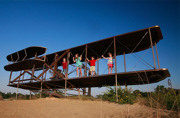 Wright Brothers National Memorial, Kill Devil Hills, Northern Beaches