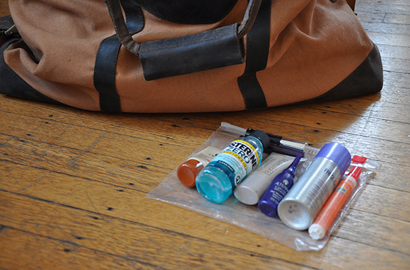 Pack a TSA-Ready Toiletry Bag