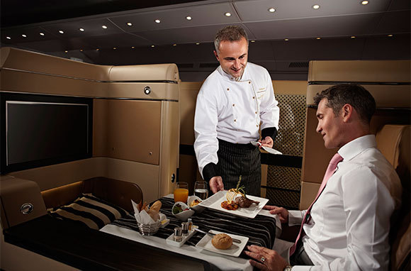 Etihad Airways: Onboard Chefs