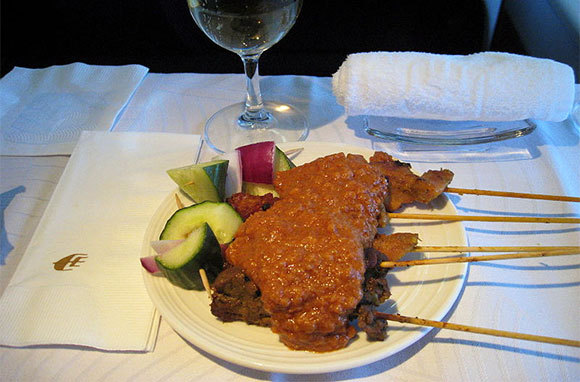 Malaysia Airlines: Chef-on-Call and Satay Service