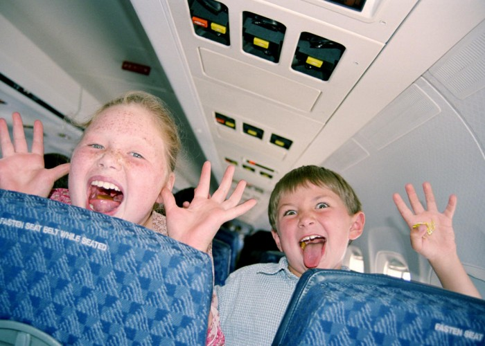 Should Airlines Separate Kids From Other Flyers?