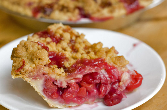Cherry Crumb Pie, Grand Traverse Pie Company, Traverse City, Michigan