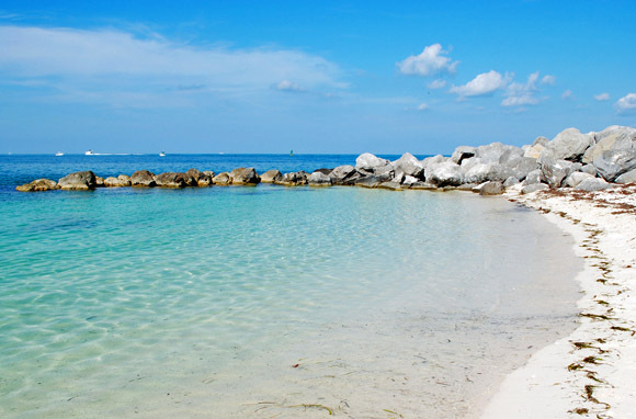 Ft. Zachary Taylor Beach, Key West, Florida