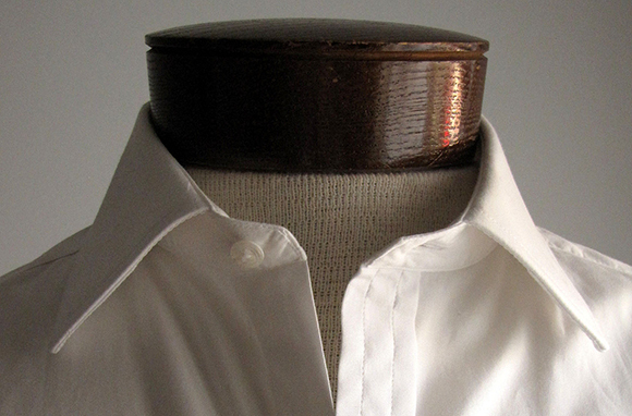 White Cotton/Linen Shirt