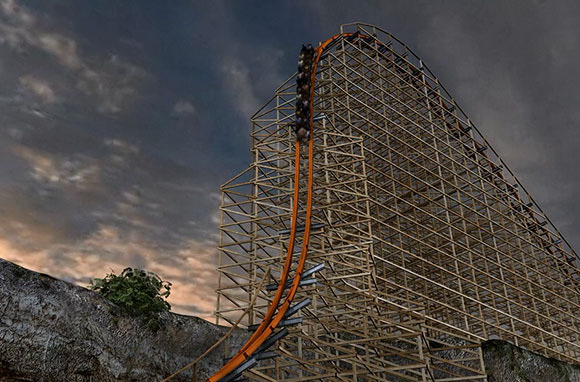 Iron Rattler, Six Flags Fiesta Texas