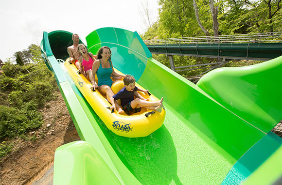 RiverRush, Dollywood's Splash Country