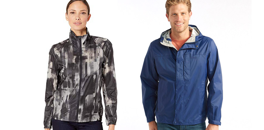 product image of brooks women's lsd jacket and l.l. bean's trail model rain jacket