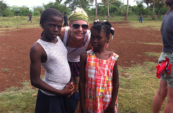 Work With Kids In Haiti