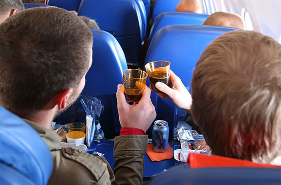 You Get Drunk More Quickly on a Plane