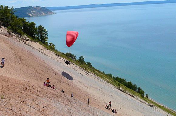 Climb Giant Sand Dunes