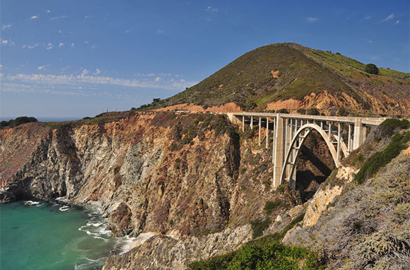 Pacific Coast And Cabrillo Highways, California