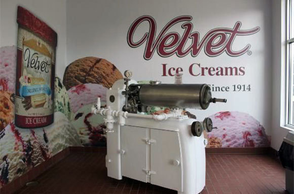 Velvet Ice Cream's Ye Olde Mill, Utica, Ohio