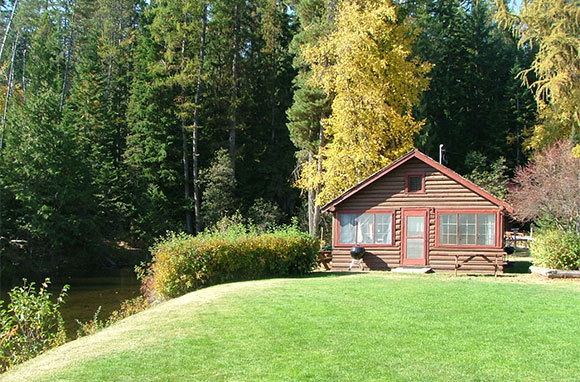 Elkins Resort on Priest Lake, Nordman, Idaho