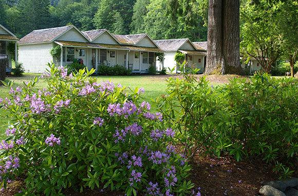 Lake Crescent Lodge, Olympic National Park, Washington