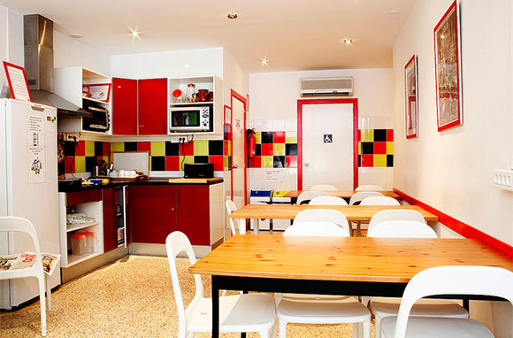 Get a Hostel with a Kitchen