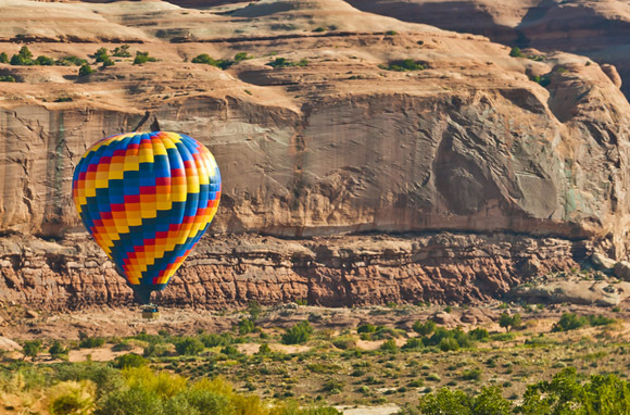 Hot-Air Ballooning, Arches National Park And Canyonlands National Park, Utah