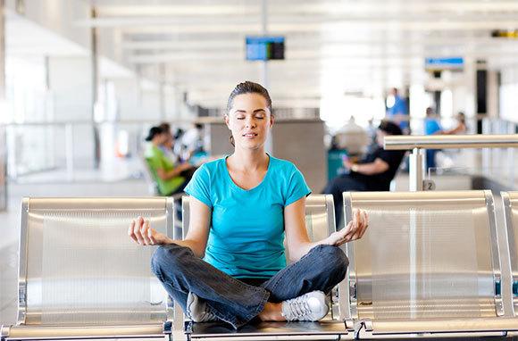 De-Stress at Airport
