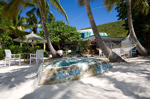 Soggy Dollar Bar, White Bay, British Virgin Islands