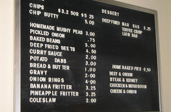 What is a chip butty?