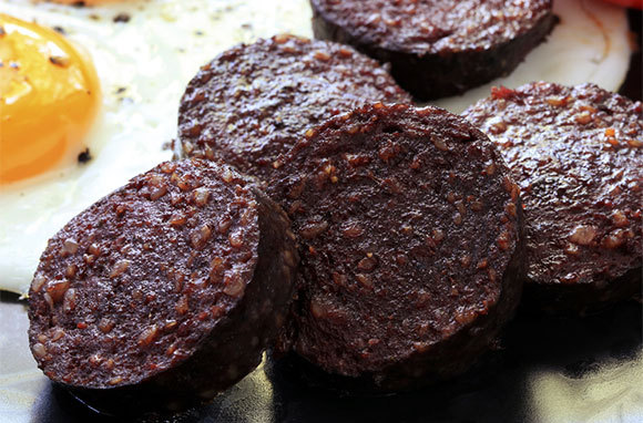 What is black pudding?