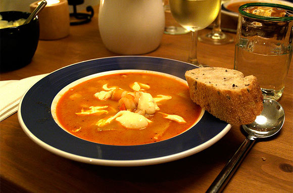 It's bouillabaisse!
